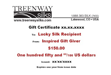 Gift Certificate-$150: click to enlarge