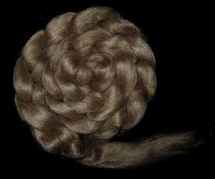 Muga Silk Roving/Sliver (Wild Silk) - 200g: click to enlarge
