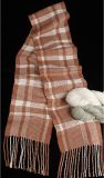 "Kit - Rigid Heddle Weaving - ""Big Plaid"" Silk Scarf"