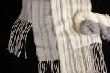 "Kit - Weaving - Rigid Heddle ""Light & Dark Fibonacci Stripes"" Silk Scarves"