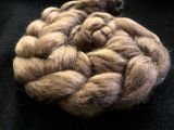 "Limited Edition ""Skinny Latte"" - Hand-dyed Tussah Roving/Sliver 25g"