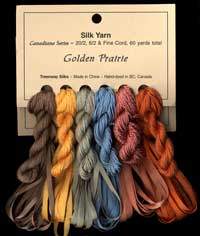 Canadiana Series – Golden Prairie: Cosmic Copper 203, Canyon 224, Glacier 214, Eucalyptus 215, Maize 37, November Maverick 226