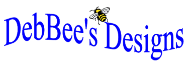 Logo for DebBee's Designs