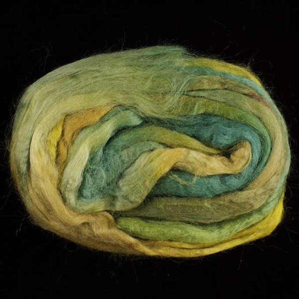 sample of Salt Spring Island Silk Sliver