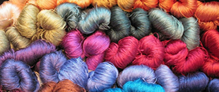 silk yarn color group