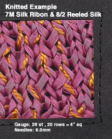 photo of ribbon swatch