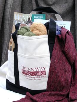 photo of Treenway Silks tote bag
