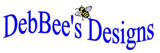 Logo for DebBee's Designs