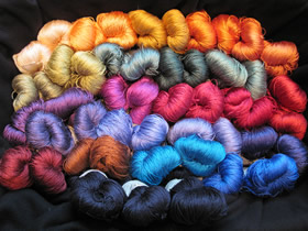 photo of Kate's Order - silk yarn