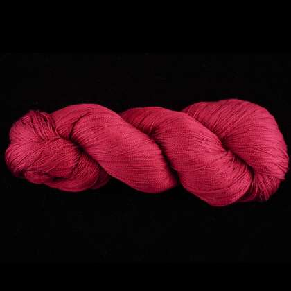 Color Now! - Zola Silk Yarn - Natural Dye 1012 Cranberry: click to enlarge