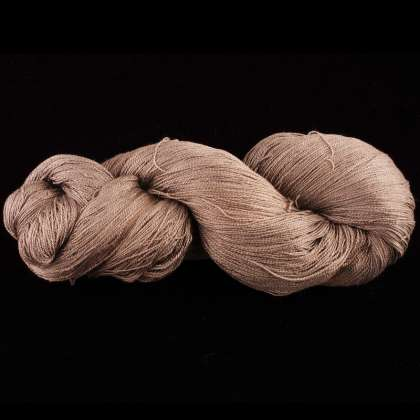Color Now! - Jorie II Silk Yarn - Natural Dye 1013 Pewter: click to enlarge