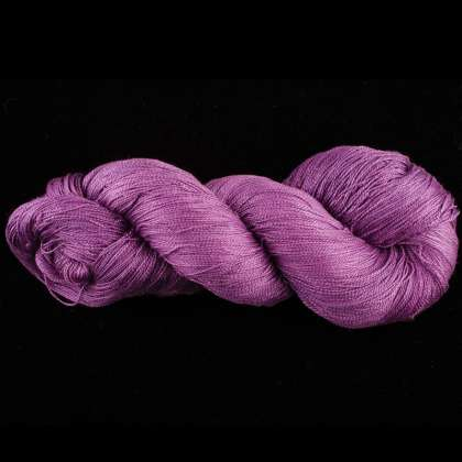 Color Now! - Zola Silk Yarn - Natural Dye 1014 Lilac: click to enlarge
