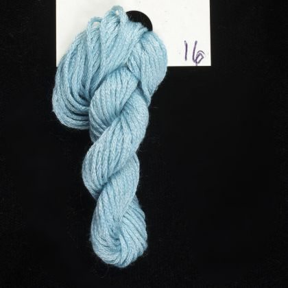 16 Sea Spray - Thread, Harmony (6-strand silk floss): click to enlarge