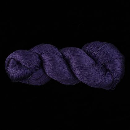 Color Now! - Kiku Silk Yarn -    1 Midnight Blue: click to enlarge