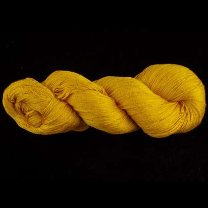 Color Now! - Gekkō Silk Yarn -  202 Electric Dijon: click to enlarge