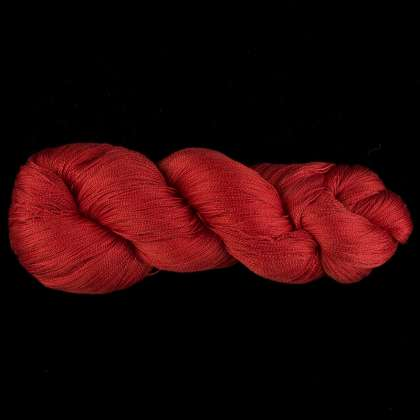 Color Now! - Kiku Silk Yarn -  204 Paprika: click to enlarge