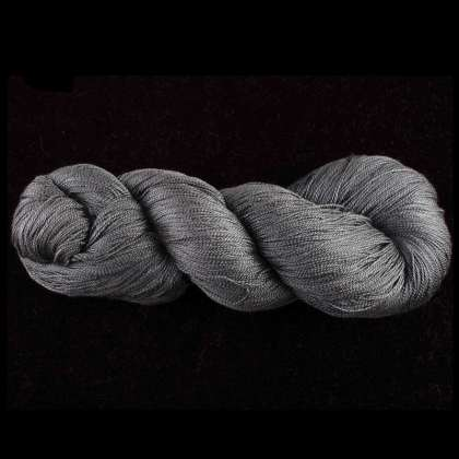 Color Now! - Kiku Silk Yarn -  208 Black Forest: click to enlarge