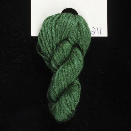 211 Triumph Green - Thread, Harmony (6-strand silk floss): click to enlarge
