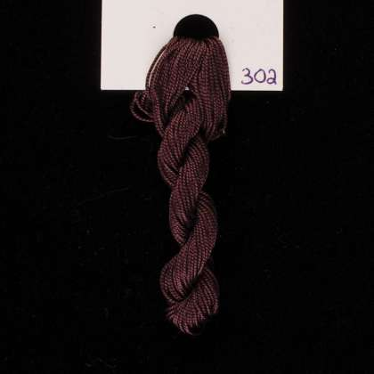 302 Walnut - Thread, Tranquility (fine cord): click to enlarge