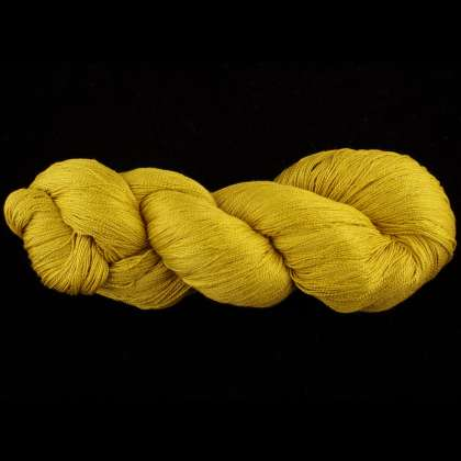 Color Now! - Kiku Silk Yarn -  304 Chamomile Gold: click to enlarge