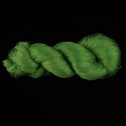 Color Now! - Kiku Silk Yarn -  314 Leap Frog: click to enlarge
