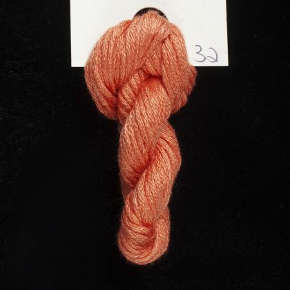 32 Salmonberry - Thread, Harmony (6-strand silk floss): click to enlarge