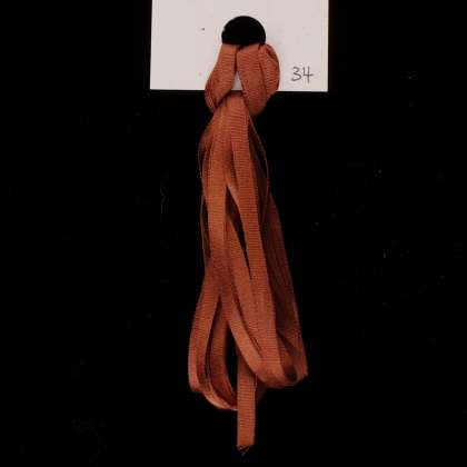 34 Spiced Cognac - Ribbon, 3.5mm: click to enlarge
