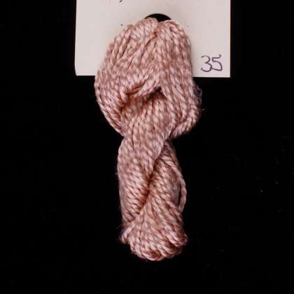 35 Champagne - Thread, Tranquility (fine cord): click to enlarge