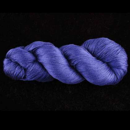 Color Now! - Alirio-Thinner Silk Noil Yarn - 4 Rendezvous Blue: click to enlarge