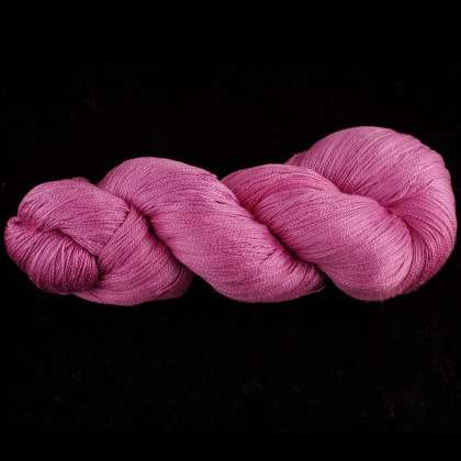 Color Now! - Kiku Silk Yarn -   46 Peony: click to enlarge