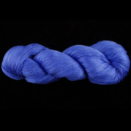 Color Now! - Kiku Silk Yarn -    6 Lapis Lazuli: click to enlarge