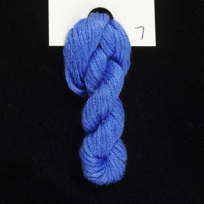 7 Bachelor's Button - Thread, Harmony (6-strand silk floss): click to enlarge