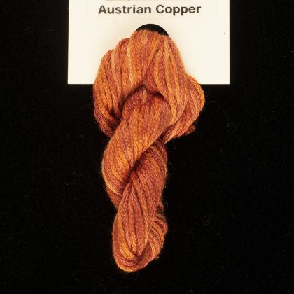 65 Roses® 'Austrian Copper' - Thread, Harmony (6-strand silk floss): click to enlarge