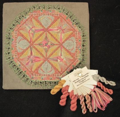 "Thread Kit - Threedles Needleart Design's - Four Friends ""Tangiers"": click to enlarge"