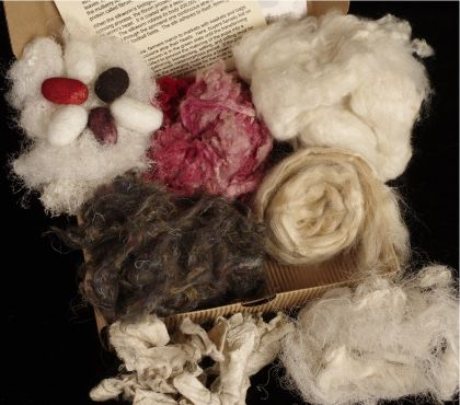 Kit - Fiber - 'Funky Fibers Box': click to enlarge