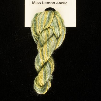 65 Roses® 'Miss Lemon Abelia' - Thread, Harmony (6-strand silk floss): click to enlarge