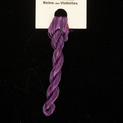 65 Roses® 'Reine des Violettes' - Thread, Tranquility (fine cord thread): click to enlarge