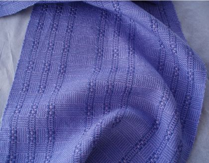 "Kit - Weaving - Limited Edition ""Huck Lace Meets Color-and-Weave"" Scarves Kit: click to enlarge"