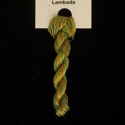 65 Roses® 'Lambada' - Thread, Tranquility (fine cord thread): click to enlarge