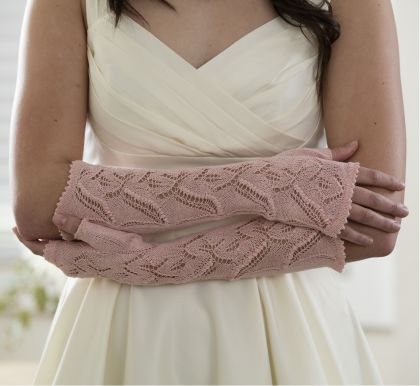 Kit - Knitting - Wedding Mitts: click to enlarge