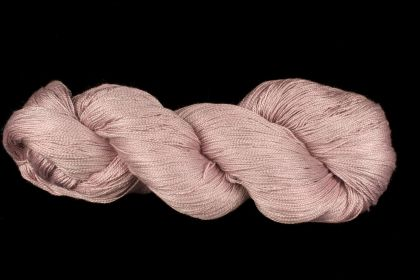 Color Now! - Kiku Silk Yarn -   25 Platinum: click to enlarge
