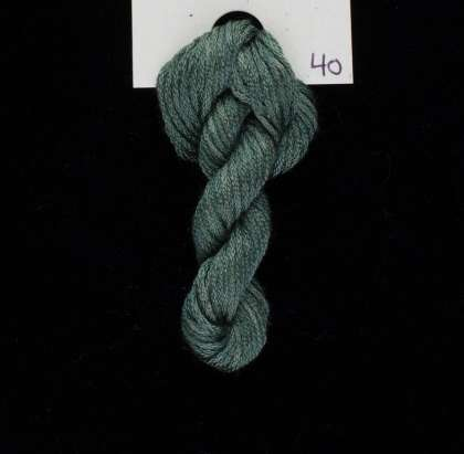 40 Winter Sage - Thread, Harmony (6-strand silk floss): click to enlarge