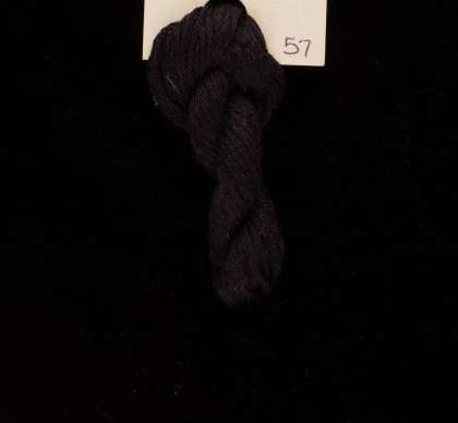 57 Raven Black - Thread, Harmony (6-strand silk floss): click to enlarge