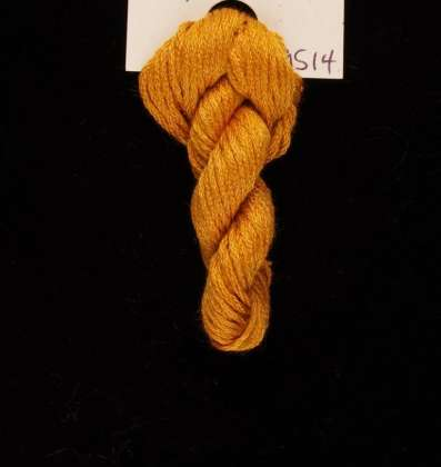 9514 Amber - Thread, Harmony (6-strand silk floss): click to enlarge