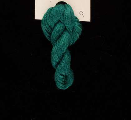 9 Emerald Dream - Thread, Harmony (6-strand silk floss): click to enlarge