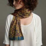"Kit - Limited Edition ""Handwoven Loom Theory: 8-or-16-shaft ""Jin Silk"" Scarf by Bonnie Inouye"