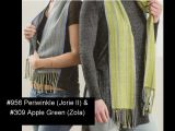 "Kit - Rigid Heddle Weaving - ""Light & Dark Fibonacci Stripes"" Silk Scarves"