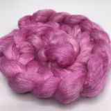 "Limited Edition ""Fireweed"" - Hand-dyed Tussah Roving/Sliver 25g"