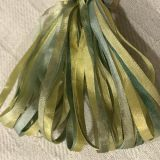 65 Roses® 'Miss Lemon Abelia' -  3.5mm Silk Ribbon