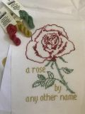 "65 Roses® Chart ""A Rose by Any Other Name"""